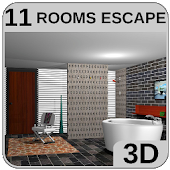 3D Escape Messy Bathroom