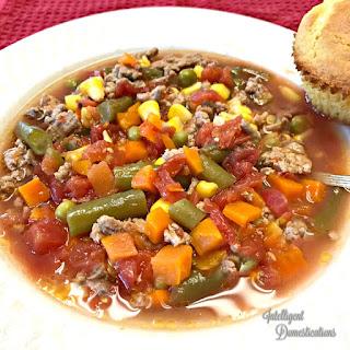 Homemade Vegetable Soup.