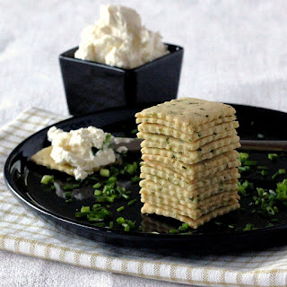 Sour Cream and Chive Crackers (Egg-Free)