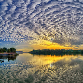 by Partha Roy - Landscapes Cloud Formations