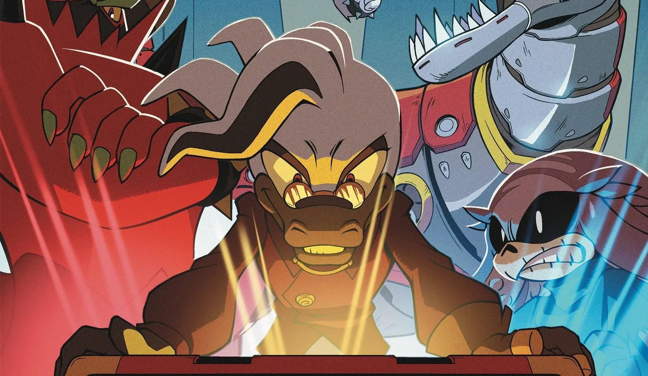 Zapowiedź drugiego numeru Sonic the Hedgehog: Bad Guys