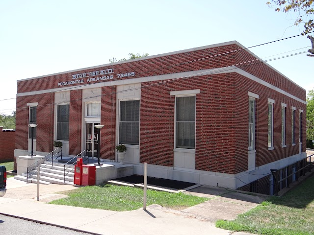 Old Pocahontas, AR post office; now Pocahontas Star Herald building