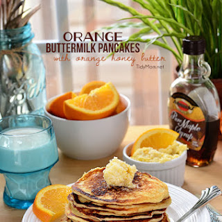 Orange Buttermilk Pancakes