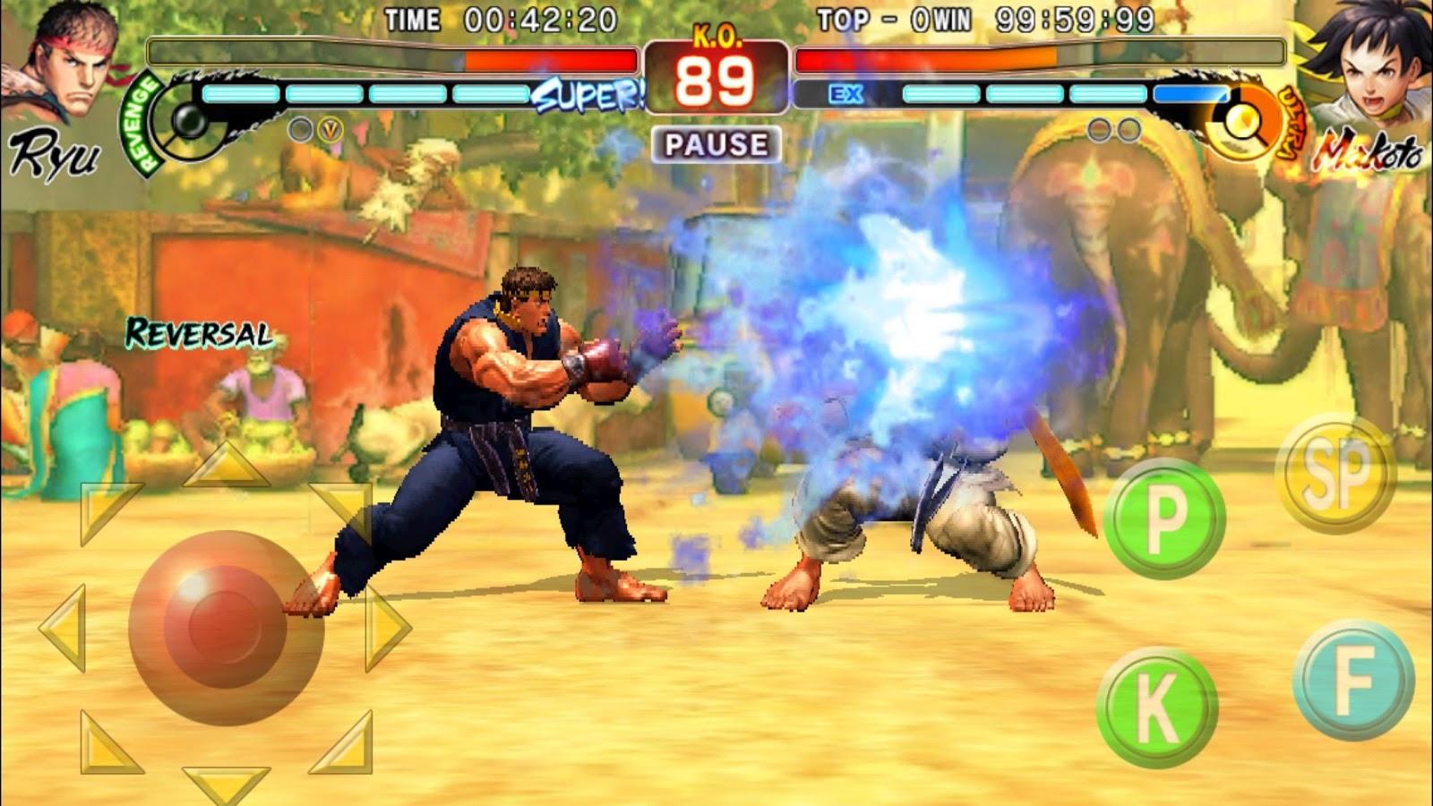 Street Fighter IV Champion Edition – snímek obrazovky