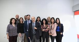 El equipo de profesionales que forma la empresa.