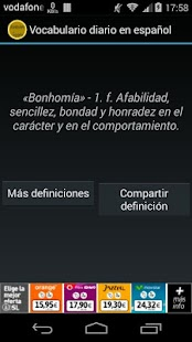 Vocabulario diario en español- screenshot thumbnail