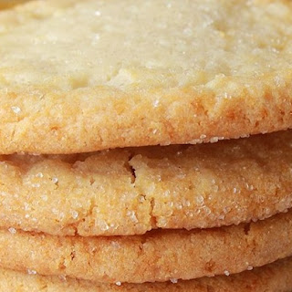 Chewy Sugar Cookies.