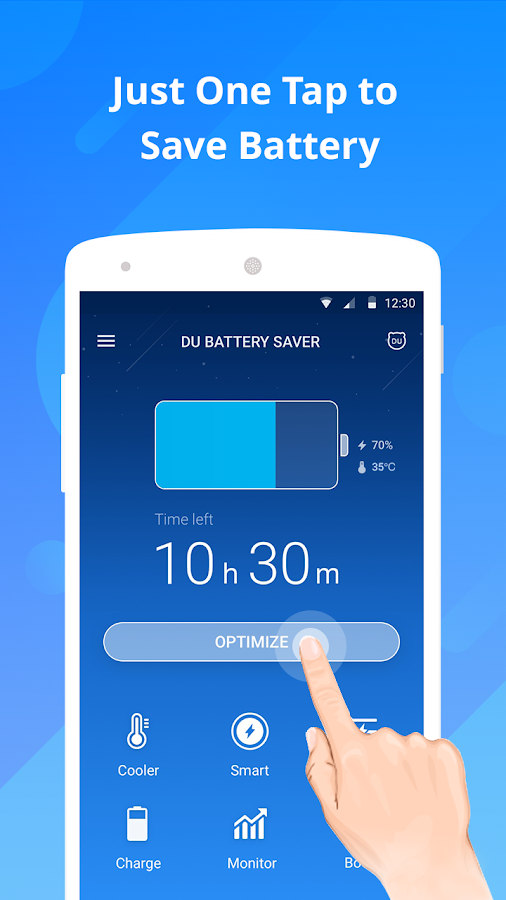 Battery - DU Battery Saver- screenshot