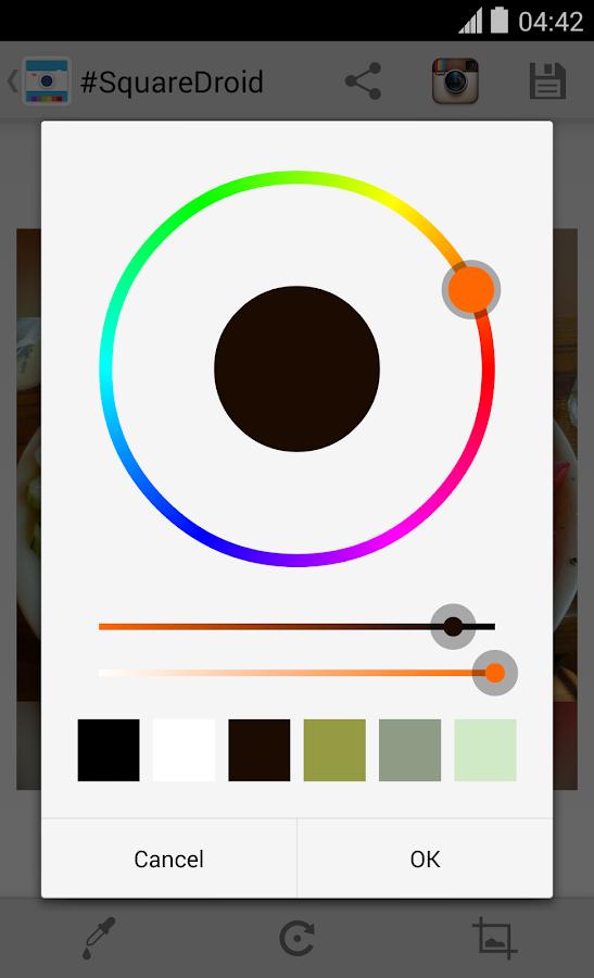 #SquareDroid — Full Size Photo- screenshot