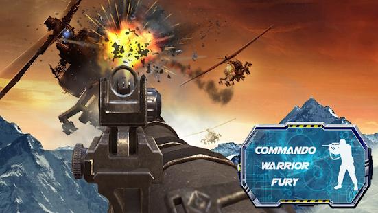 Commando Warrior Fury Shooter screenshot