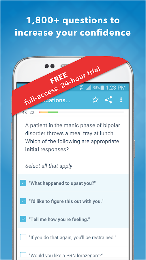NCLEX RN Mastery- screenshot