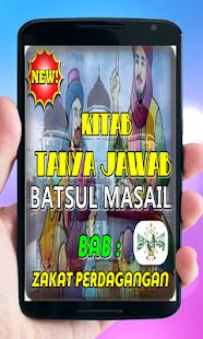 Kitab Batsul Masail Bab Seputar Hukum Zakat - náhled