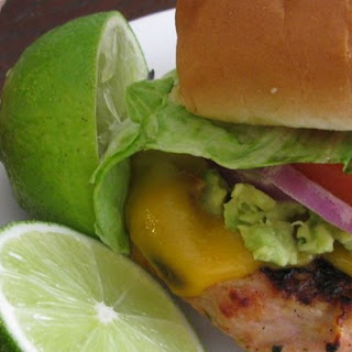 Chicken Lime Burgers Recipes