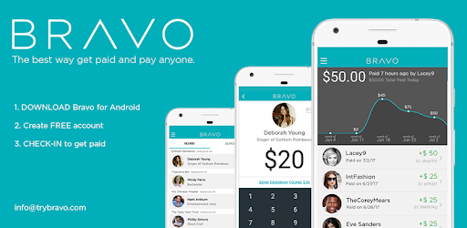 BRAVO Tip or Pay - Apps on Google Play