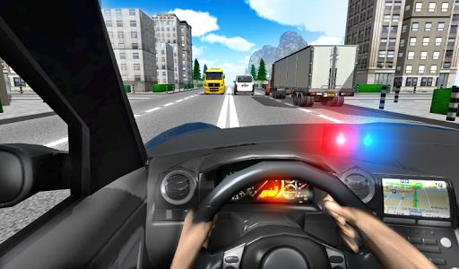 Police Driving In Car 4 screenshots 1