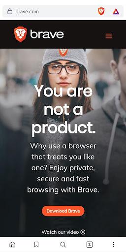 Brave Browser (Beta) 1.7.101 screenshots 1