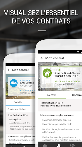 MAIF vos contrats et services Android App Screenshot