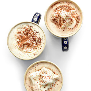 Coconut Milk Hot Chocolate.