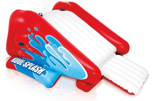 6. Intex Kool Splash Kids Inflatable swimming pool water slide
