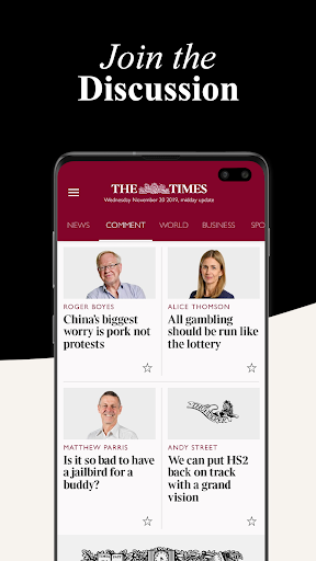 The Times screenshot 5