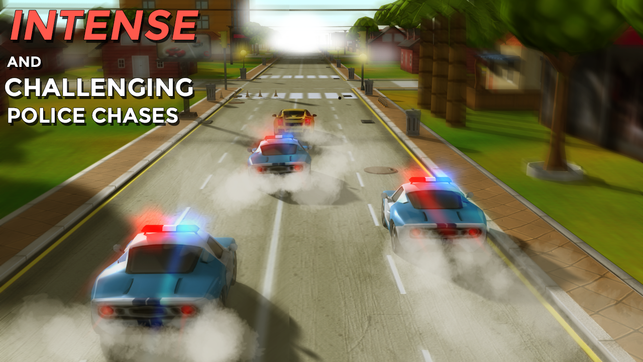 HotFoot - city racing 3d- screenshot