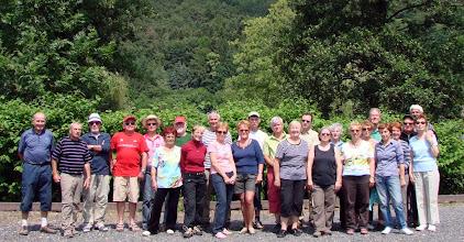 Photo: le groupe des concurents
