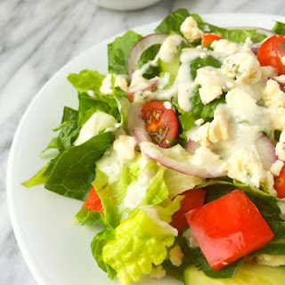 Healthy Blue Cheese Dressing.