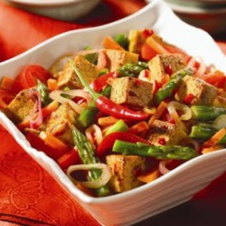Spicy Tofu Recipe with Vegetables