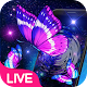 Neon Purple Butterfly Live Wallpaper Download for PC Windows 10/8/7
