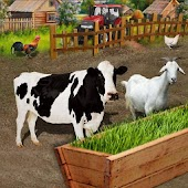 Animal Farm Fodder Growing & Harvesting Simulator