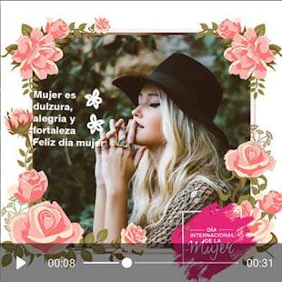Download Women's day video maker  apk screenshot 14