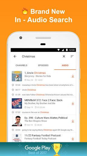 CastBox: Free Podcast Player, Radio & Audio Books 7.5.8-180107017 screenshots 4