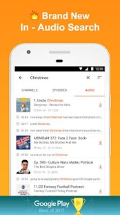 CastBox: Free Podcast Player, Radio & Audio Books - náhled