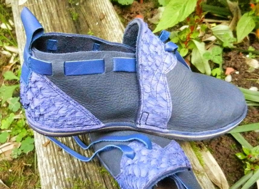 Photo: Sandals, made by Mik Wright, Weston, West Virginia