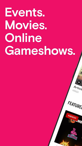 Paytm Insider: Movie Tickets, Events & Gameshows 4.3.1 screenshots 1