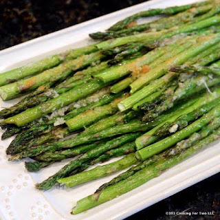 Roasted Garlic Parmesan Asparagus Recipe