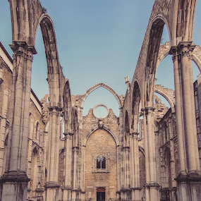 Ruins of the Carmo by Wira Suryawan - Uncategorized All Uncategorized ( amazing, europe, architecture, lisbon, portugal )