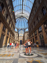 Photo: Another galleria in Napoli