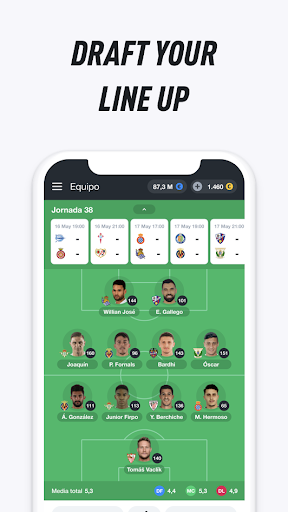Bemanager - Be a Soccer Manager - screenshot