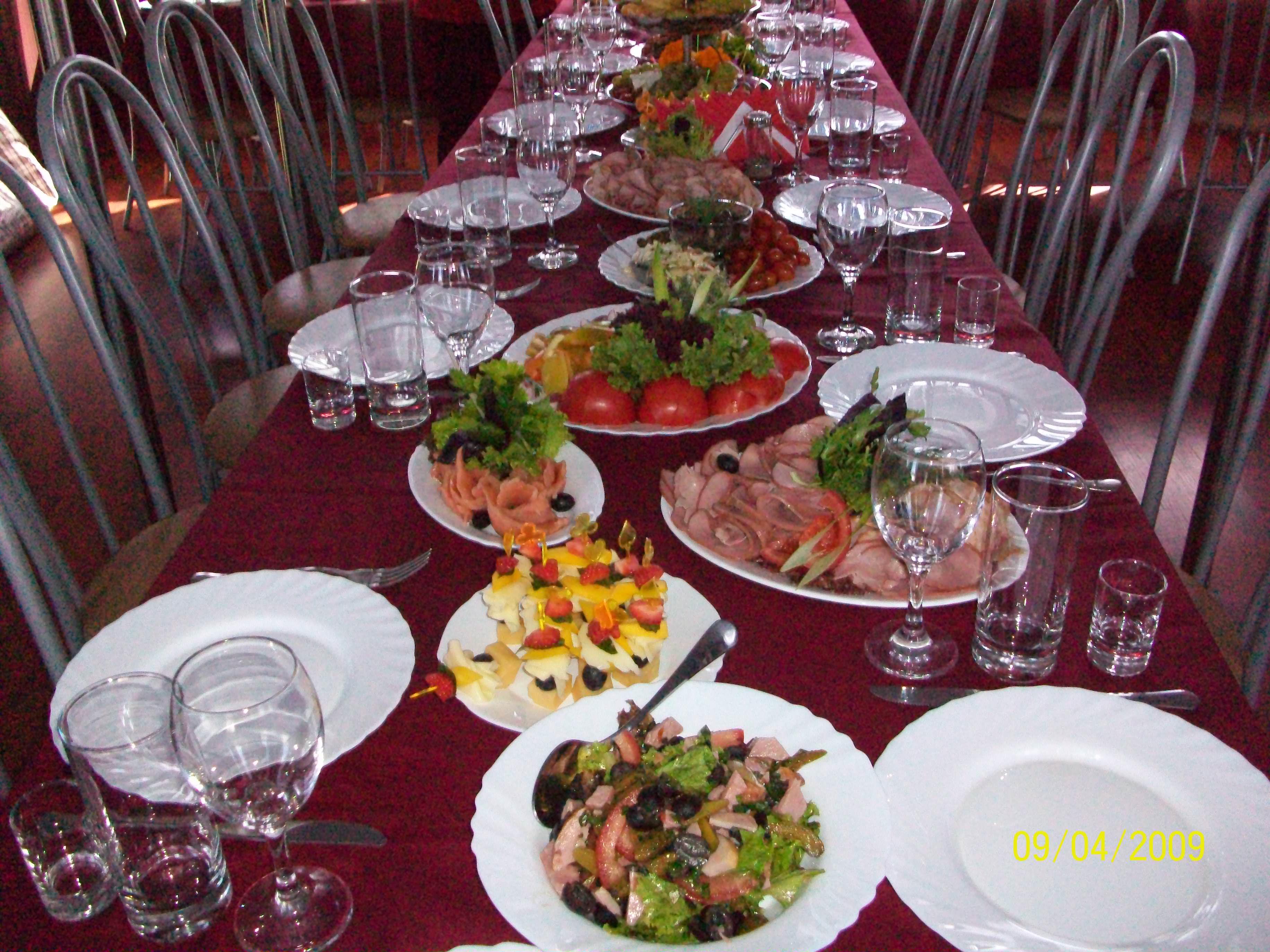 Выездной ресторан «Аврора кейтеринг» в Перми