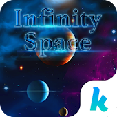 Infinity Space Keyboard Theme