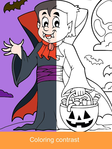 2021 Halloween Coloring Books 2.1.3 screenshots 14