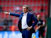Francky Dury satisfait des siens après le partage au Standard (2-2)