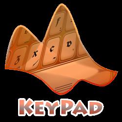 Orange Keypad Layout