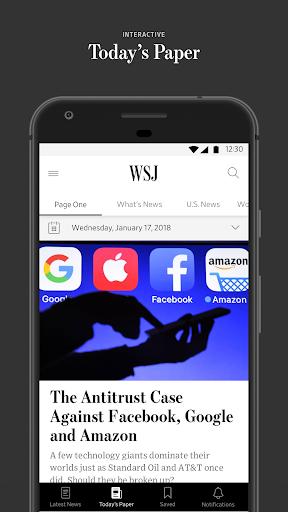 The Wall Street Journal: Business & Market News 4.8.0.30 screenshots 2