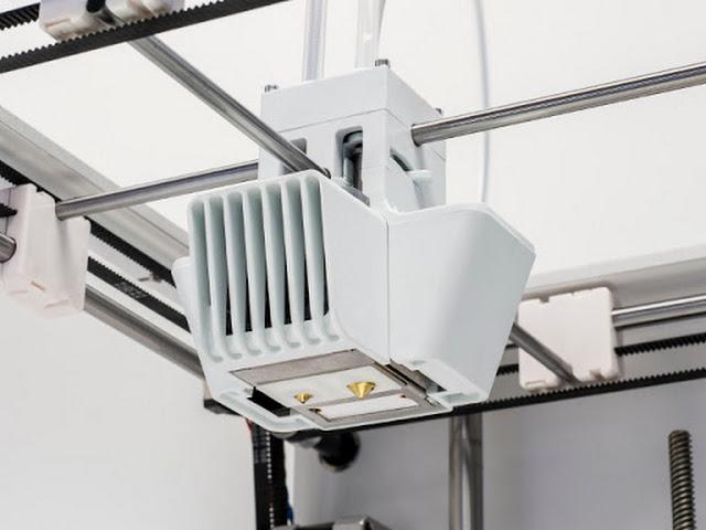 Ultimaker 3 Extended 3D Printer Fully Assembled