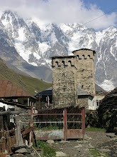 Photo: Ancient stone towers of Ushguli, Svaneti. The highest permanently occupied village in Europe they say, but aren't we in Asia?