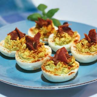 Avocado Deviled Eggs Recipes.