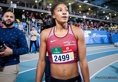 Nafi Thiam begint deze ochtend aan haar vijfkamp op het EK atletiek indoor