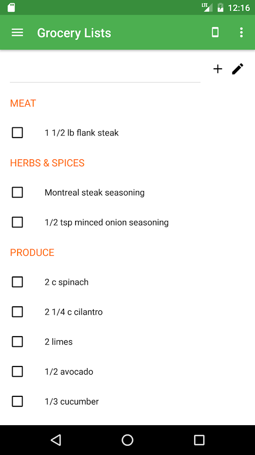 Let's Be Chefs: Recipes, Meal Planning & Groceries- screenshot